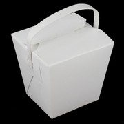 Small Cardboard Noodle Boxes 8oz Pk 25