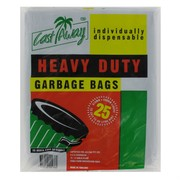 Bags Plastic Heavy Duty Black 72-80L 810x960mm Pk25