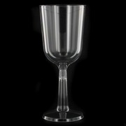 Plastic Wine Glasses - 197ml Pk 10