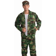 Adult Camouflage Jacket (Costume) Pk 1