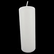 Candles Pillar White 50x150mm Pk1