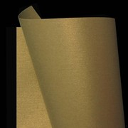 A4 Board 250gsm Curious Metallic Gold Leaf 250 Pk20