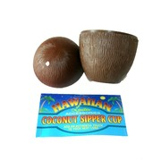 Hawaiian Coconut Sipper Cup (Luau) Pk1