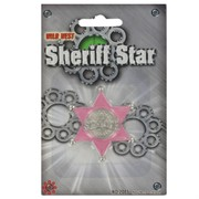 Cowgirl Badge Pink Pk1