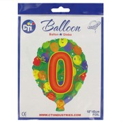 Balloon Foil 18in Balloon Shape 0 Pk1