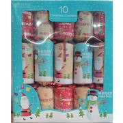 Christmas Novelty Santa & Snowman Bon Bons (12in.) Pk 10