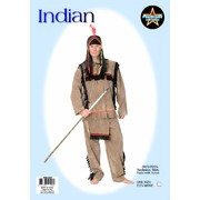 Adult Indian Costume (One Size Fits Most) Pk 1