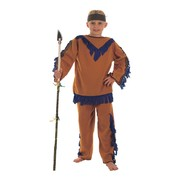 Child Indian Boy Costume (Small, 4-6 Years) Pk 1