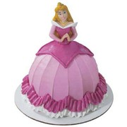 Petite Aurora Magical Splendour Cake Decoration (Pink) Pk 1 (Top Half of Figurine Only)