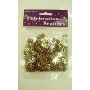 Gold Dollar Sign Confetti Scatters 25g