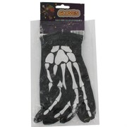 Gloves Skeleton Hand Adult Pk2