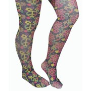 Hippie Multicoloured Tights Pk 1