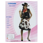 Costume Cowgirl Deluxe Adult Pk1