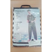 Adult Convict Prisoner Man Costume Pk 1
