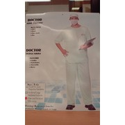 Adult Doctor Costume (One Size Fits Most) Pk 1