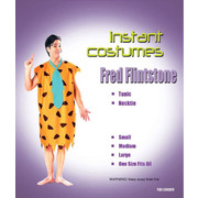 Fred Flinstone Adult Costume (One Size Fits Most) Pk 1