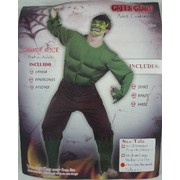Green Monster Padded Adult Costume Pk 1