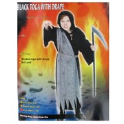 Costume Grim Reaper Robe of Horror Child Large Age 11 to 14 Pk1
