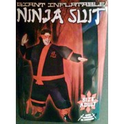 Adult Inflatable Ninja Suit (One Size Fits Most) Pk 1
