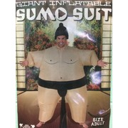 Adult Inflatable Sumo Suit Costume (One Size Fits Most) Pk 1