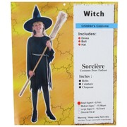 Costume Witch Classic Child Large Age 11 to 14 Pk1