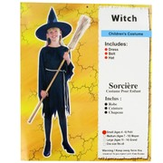 Costume Witch Classic Child Small Age 4 to 6 Pk1