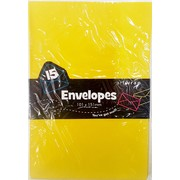 Yellow Envelopes (101mm x 151mm) Pk 15