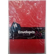 Red Envelopes (101mm x 151mm) Pk 15