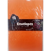 Orange Envelopes (101mm x 151mm) Pk 15