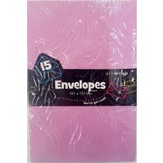 Lilac Envelopes (101mm x 151mm) Pk 15