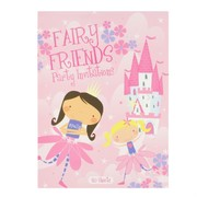 Fairy Party Invitation Pad - Fairy Friends Pk20