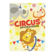 Circus Invitation Pad (20 Sheets)