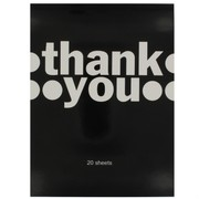 Thank You Note Pad (20 Sheets)