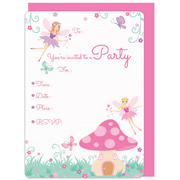 Fairies Invitations & Envelopes Pk 16