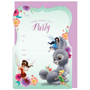 Disney Fairies Invitations & Envelopes Pk 16