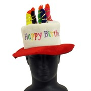 Kooky Happy Birthday with Candles Party Hat - Medium Pk1