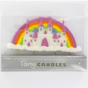Princess Party Candle - Castle Feature  Pk1