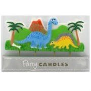 Dinosaur Party Candle Feature Pk1