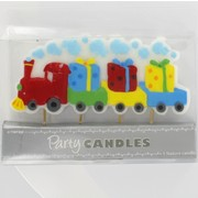Train Feature Party Candle Pk1