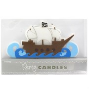 Pirate Ship Feature Party Candle Pk1