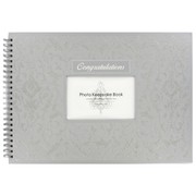 Keepsake Book Congratulations Silver Pk1