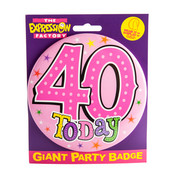 Big Badge 40 Pk1