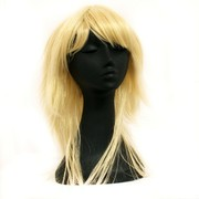 80's Party Wig - Retro Layered Blonde Pk1