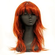 80's Party Wig - Retro Layered Auburn Pk1