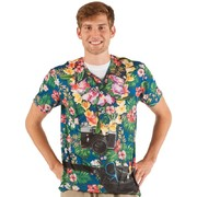 Men's Tourist Faux Real T Shirt (Large) Pk 1