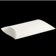 Bonbonniere Pillow Folding Box Small Pearl 60x55x15mm Pk20