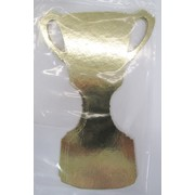 Gold Trophy Melbourne Cup Cutout 15cm Pk 6