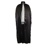 Black Satin Adult Cape (1.4m) Pk 1