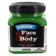 Green Face and Body Paint 250ml Pk 1