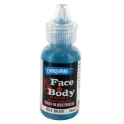 Blue Glitter Face Paint 36ml Pk 1